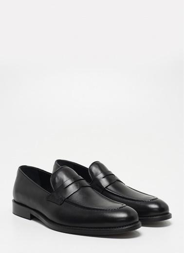 D by Divarese Klasik Ayakkabı Siyah
